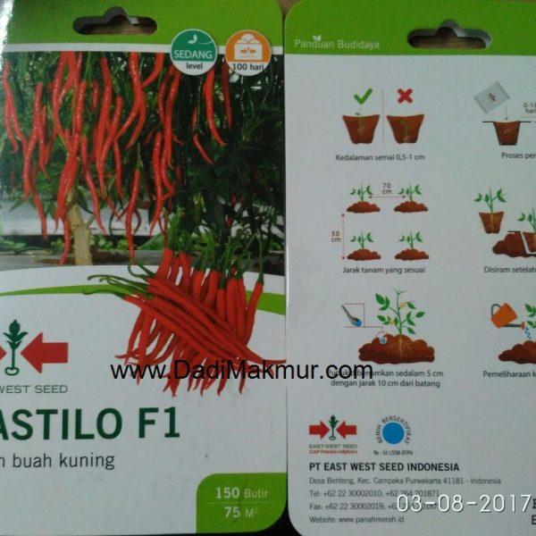 Jual Benih Cabe Kastilo Go Grow 150 Butir
